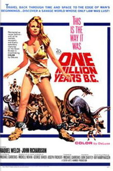 poster One Million Years B.C. (1966)