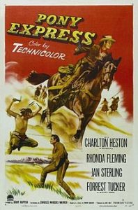 poster Pony Express (1953)