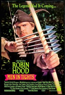 poster Robin Hood Men in Tights (1993)