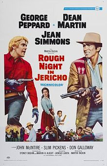 poster Rough Night in Jericho (1967)