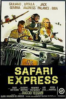 poster Safari Express (1976)