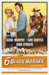 poster Six Black Horses (1961)