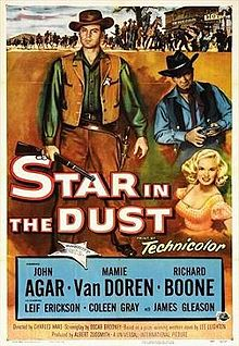 poster Star in the Dust (1956)