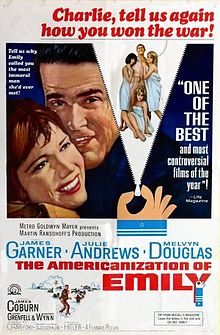 poster The Americanization of Emily (1964)