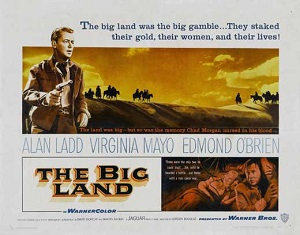 poster The Big Land (1957)