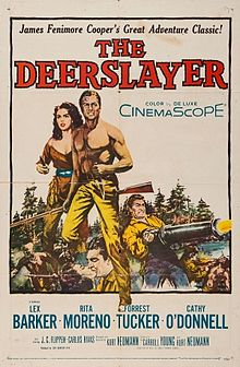 poster The Deerslayer (1957)