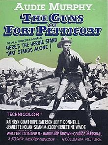poster The Guns of Fort Petticoat (1957)