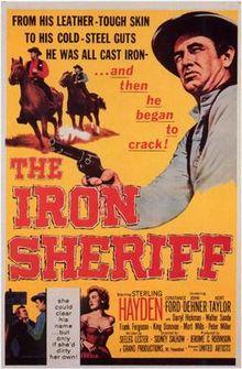 poster The Iron Sheriff (1957)