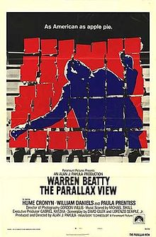 poster The Parallax View (1974)