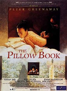 poster The Pillow Book (1996)