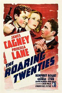 poster The Roaring Twenties (1939)
