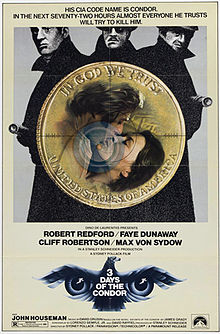 poster Three Days of the Condor (1975)
