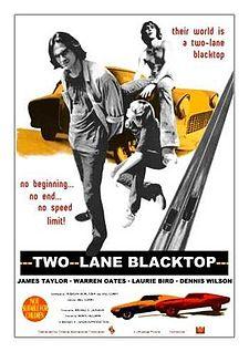 poster Two-Lane Blacktop (1971)