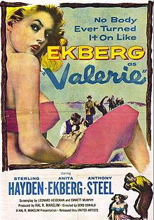 poster Valerie (1957)