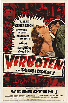 poster Verboten! (1959)