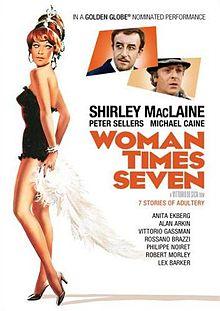 poster Woman Times Seven (1967)