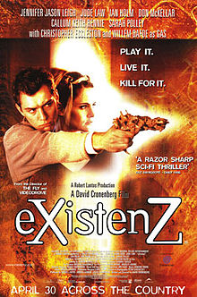 poster eXistenZ (1999)