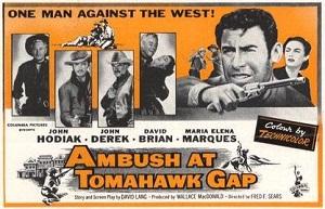 poster Ambush at Tomahawk Gap (1953)