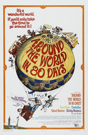poster Around the World in Eighty Days (1956)