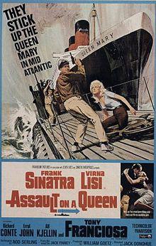 poster Assault on a Queen (1966)