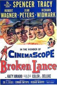 poster Broken Lance (1954)