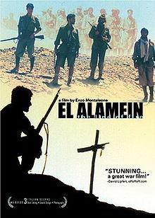 poster El Alamein - La linea del fuoco (2002)