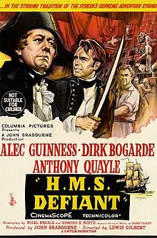 poster H.M.S. Defiant - Damn the Defiant! (1962)