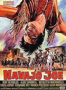 poster Navajo Joe (1966)