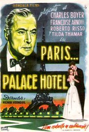 poster Paris, Palace Hotel (1956)