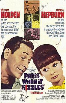 poster Paris When It Sizzles (1964)