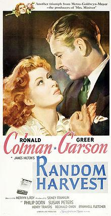 poster Random Harvest (1942)