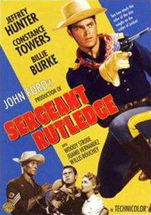 poster Sergeant Rutledge (1960)