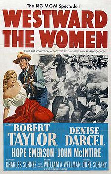 poster Westward the Women (1951)