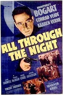 poster All Through the Night (1942)