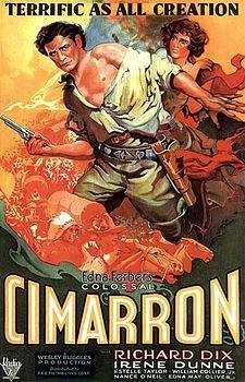 poster Cimarron (1931)