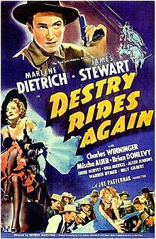 poster Destry Rides Again (1939)