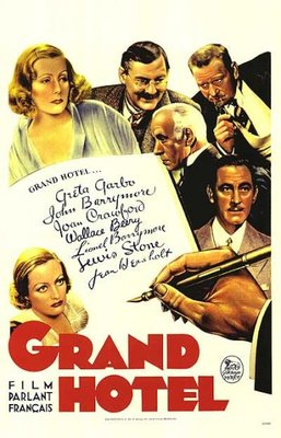poster Grand Hotel (1932)