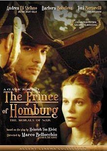 poster Il principe di Homburg (1997)