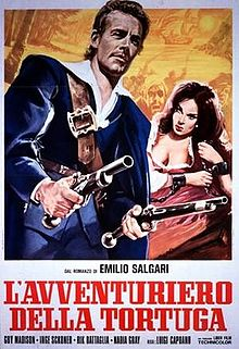 poster L'avventuriero della Tortuga (1965)