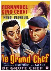 poster Le Grand Chef (1959)