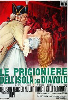 poster Le prigioniere dell'isola del diavolo (1962)