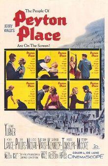 poster Peyton Place (1957)