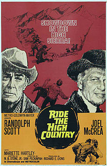 poster Ride the High Country (1962)