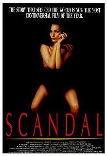 poster Scandal (1989)