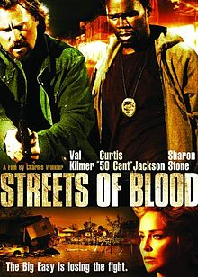 poster Streets of Blood (2009)
