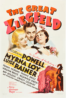 poster The Great Ziegfeld (1936)