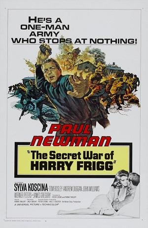 poster The Secret War of Harry Frigg (1968)