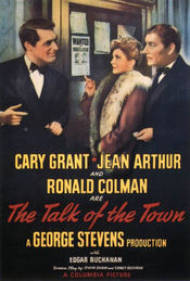 poster The Talk of the Town (1942)