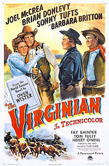 poster The Virginian (1946)