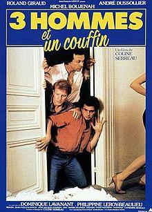 poster Trois Hommes Et Un Couffin (1985)